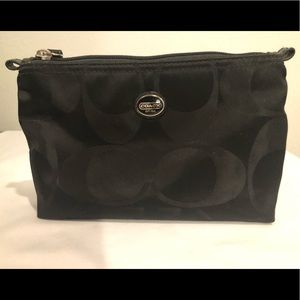 Small Coach Makeup/Travel Bag/Pouch